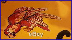 Vintage GILT EDGE PAINT Sign Original Antique Old Hardware Store Rare