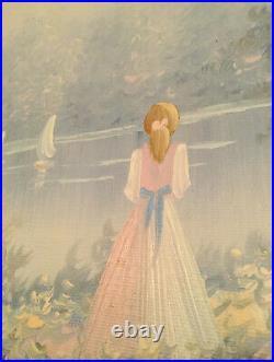 Vintage Landscape Oil by Henry DuBois Impressionist