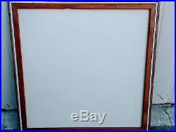 Vintage Letterman MID Century Modern Geometrical Painting Rare