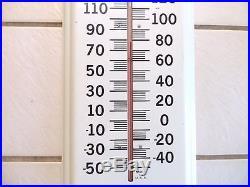 Vintage Marine Paint Sign Woolsey Nautical Mermaid LG Indoor Outdoor Thermometer
