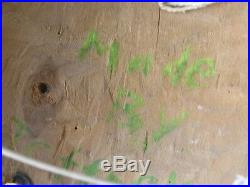 Vintage Northwest Coast Kispiox Hand Carved Hand Painted Mask Signed W G Jeffrey