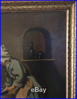 Vintage Oil Painting Signed
