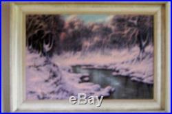 Vintage Orig. Oil Painting Signed Josef Dande, Hungarian Artist-Pre WWII-Canvas