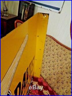 Vintage Original Flange Signs Huge Davis Paint Flange Sign Painted Steel