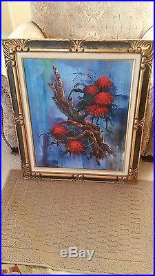 Vintage Signed HECTOR SALAS Original Oil Painting