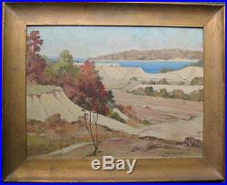 Vintage Southwestern Landscape Oil Painting C. Gulbrands