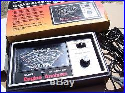 Vintage nos 70s SEARS Engine tune-up ignition tester gauge kit gm auto car chevy